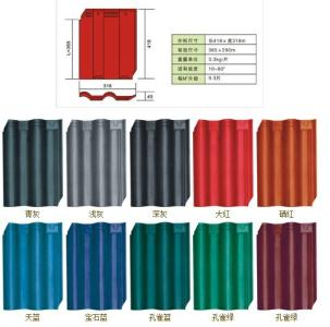 琉璃瓦有几种颜色?它有哪些优缺点?