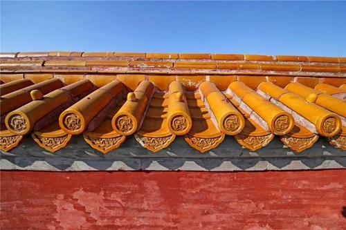 琉璃瓦在紫禁城中的实际应用表现