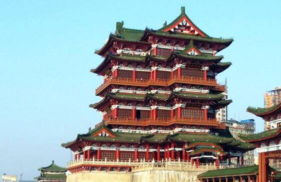分享国内著名的九大筒瓦古建筑塔楼