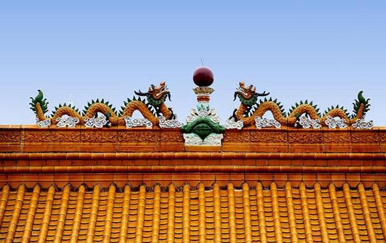 """通过琉璃瓦建筑了解龙是古建筑的""""守护神"""""""